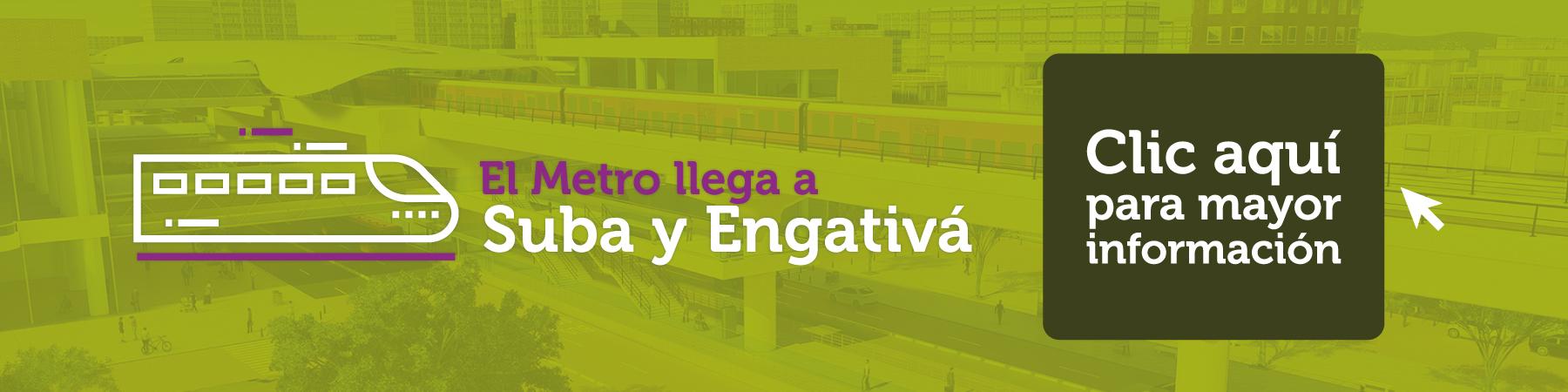 El metro llega a Suba y Engativá