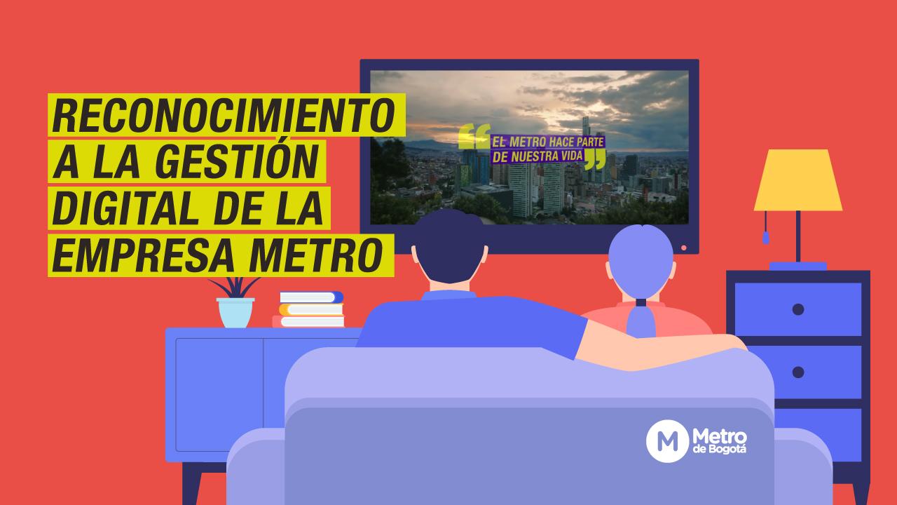Reconocimiento en YouTube Ads Leaderboard a la Empresa Metro