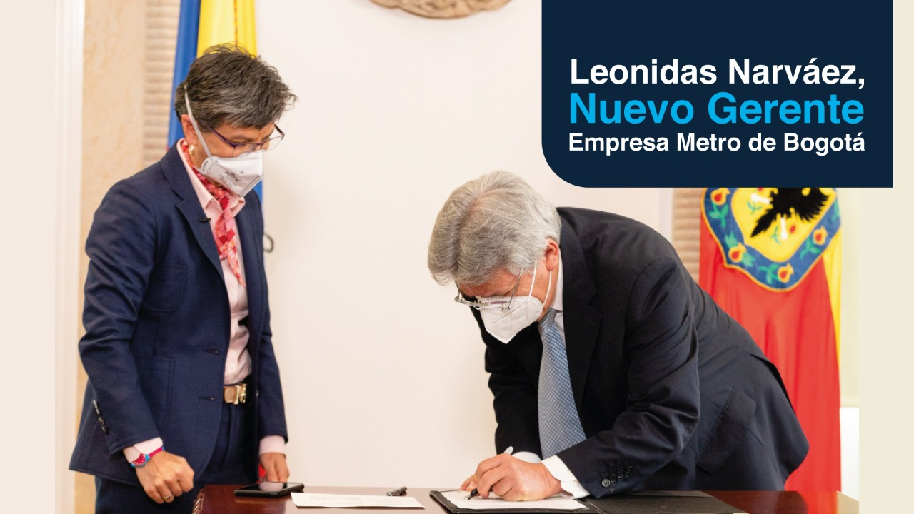 Leonidas Narváez, Gerente General de la EMB