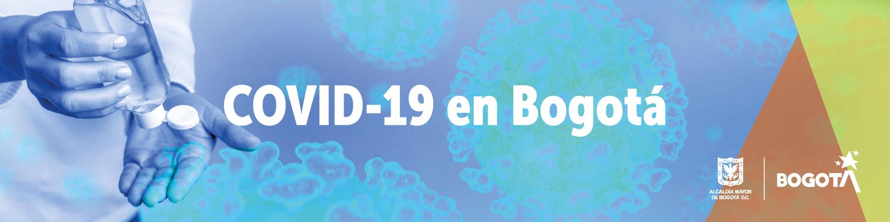 Información sobre el COVID-19 en Bogotá