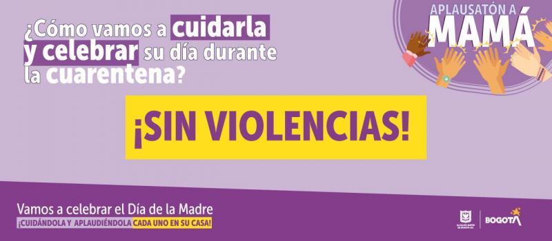 Día de la Madre con 'Aplausatón' en Bogotá