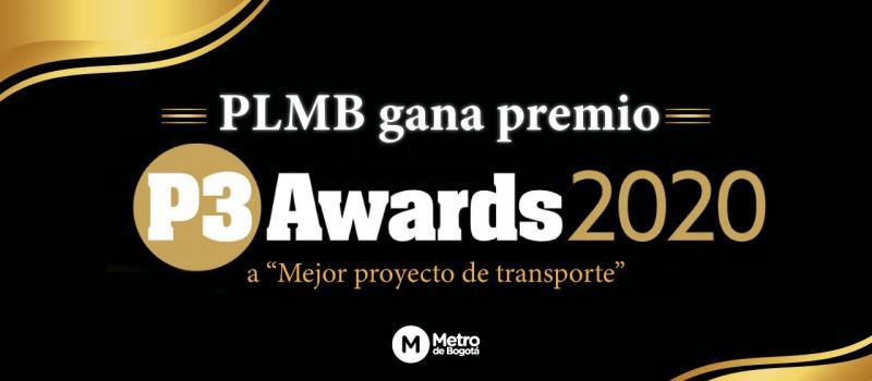 PLMB gana premio P3 Awards